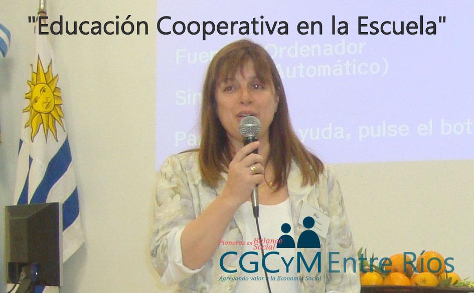 """El CGCyM Entre Ríos organiza el Taller """"Educación Cooperativa en la Escuela"""", en Concordia"""