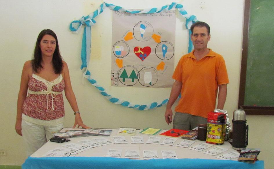 Los licenciados Melina Cerviño y Juan Pubill
