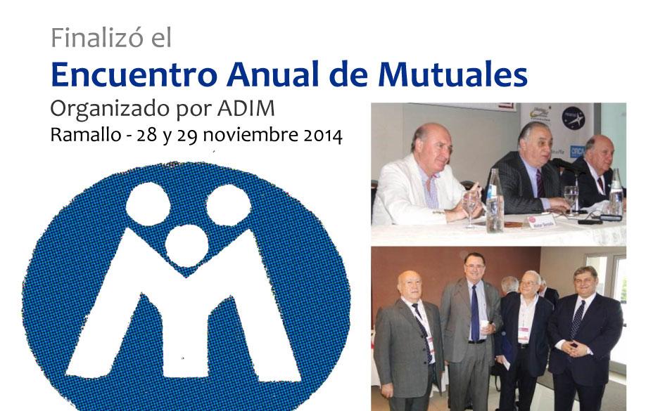 Concluyó exitosamente el Encuentro Anual de Mutuales, organizado por ADIM y realizado en Ramallo