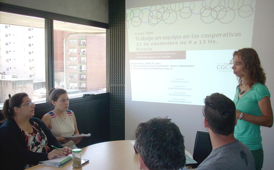 Finalizó el curso «Trabajo en equipo en las cooperativas» desarrollado en Rosario y avalado por el CGCyM