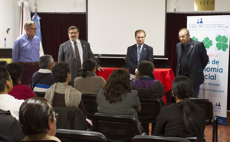 El CGCyM brindó un Curso de Economía Social a cooperativistas ecuatorianos en la ciudad de Buenos Aires