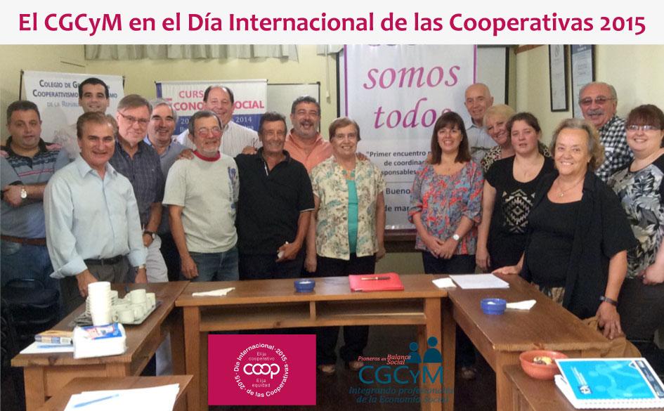 El CGCyM en el Día Internacional de las Cooperativas 2015