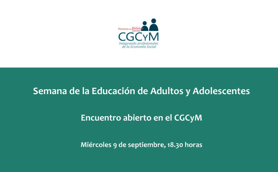 El CGCyM celebra la Semana de la Educación del Adulto y Adolescente con una charla sobre cooperativismo y mutualismo