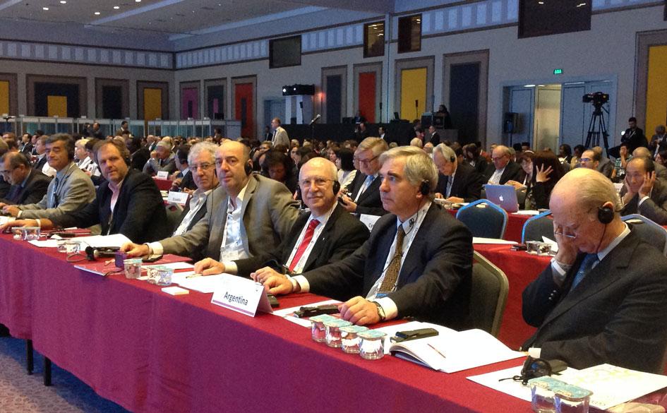 Participación del Lic. Eduardo Fontenla en la Conferencia Mundial de la ACI en Turquía