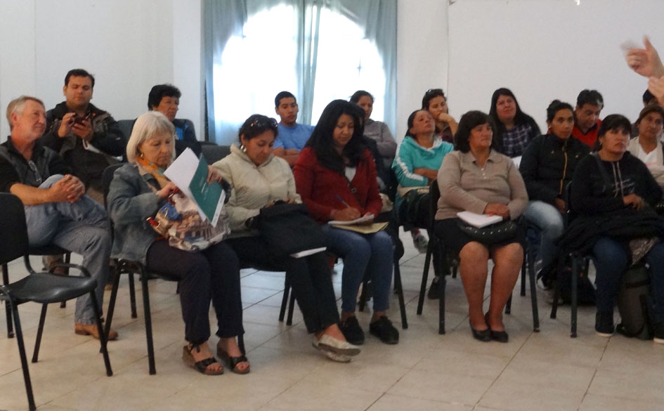 Algunos participantes del curso desarrollado por el CGCyM para el INTA y Cambio Rural II y coordinado por el IICA.