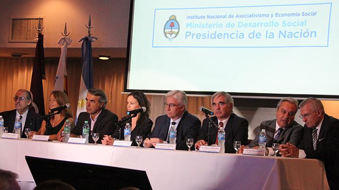 El INAES presentó autoridades y adelantó sus políticas de gestión