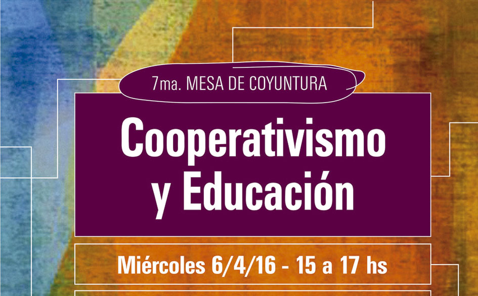 Encuentro sobre «Cooperativismo y educación» en el Ministerio de Educación de la Nación