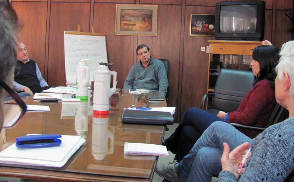 Profesionalización de la Economía Social en Santa Fe. Reunión entre el CGCyM y autoridades provinciales