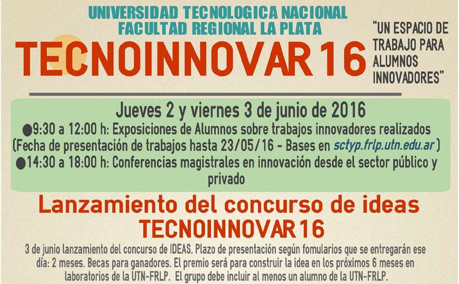 El CGCyM en las jornadas de Tecnoinnovar en la UTN Regional La Plata
