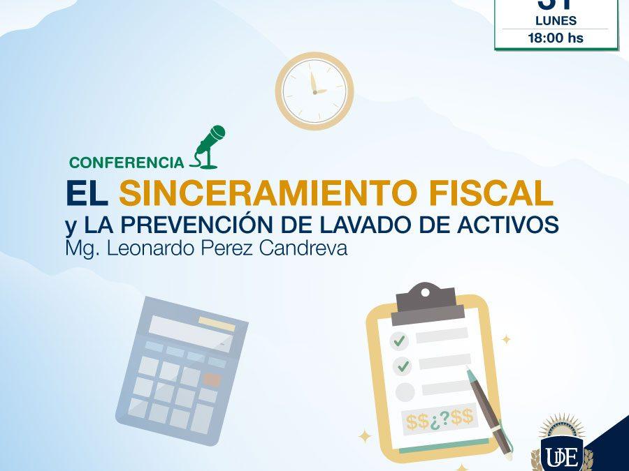 """Conferencia en La Plata: """"El Sinceramiento Fiscal (Blanqueo) y la Prevención de lavado de Activos"""". Entrada libre y gratuita"""