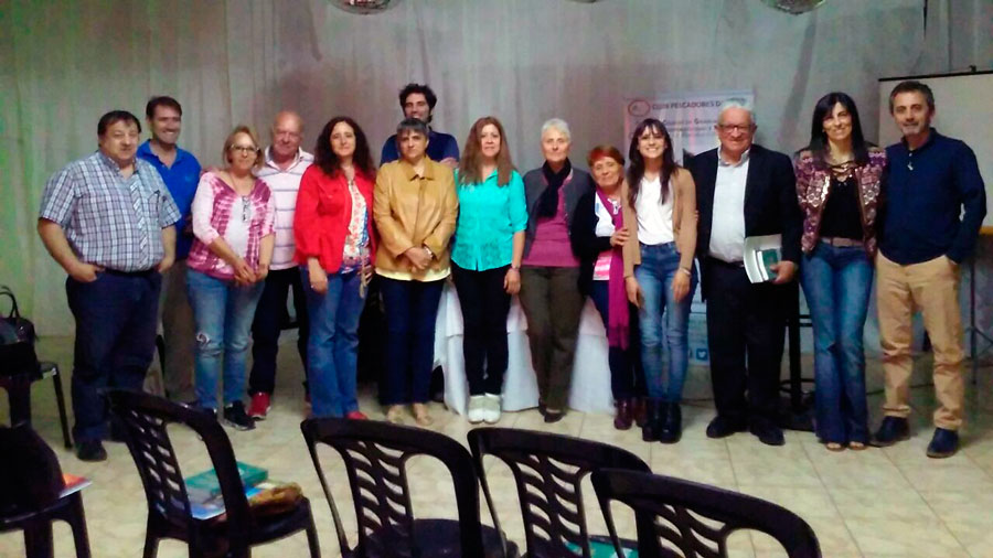 Encuentro de Profesionales de la Economía Social, región Centro. Realizado en Rojas, Pcia. de Buenos Aires