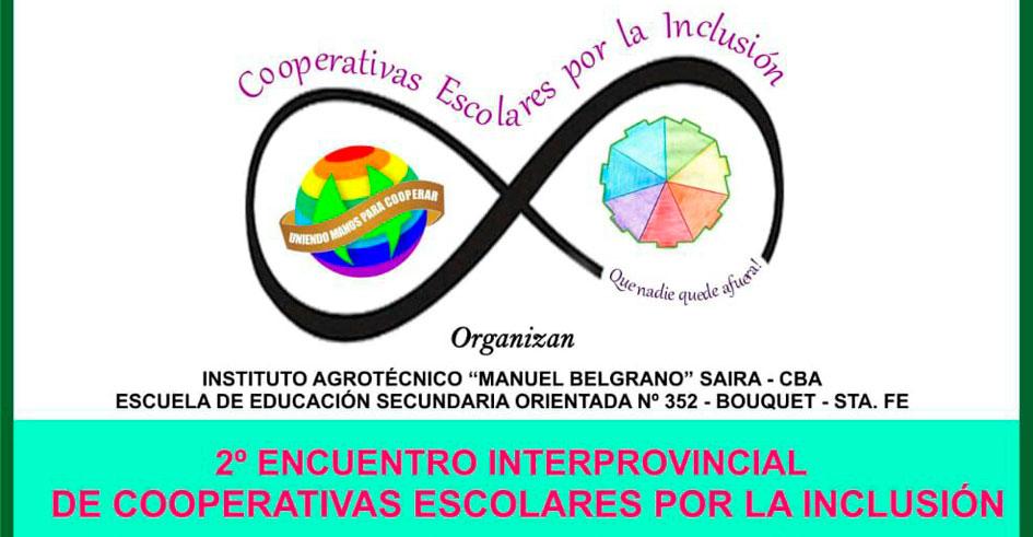 2° Encuentro Interprovincial de Cooperativas Escolares por la Inclusión