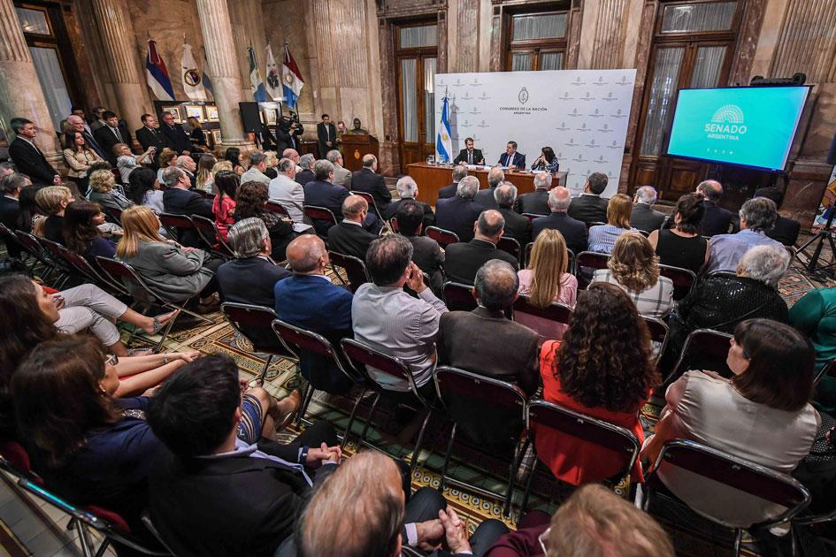 El CGCyM celebró su 50 aniversario con un homenaje en el Congreso de la Nación