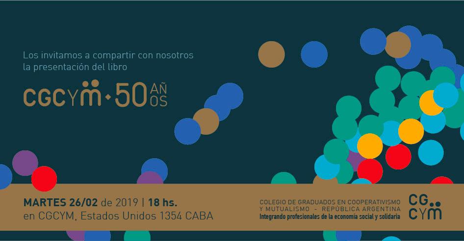 Presentación del libro de los 50 años del CGCyM