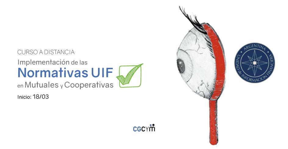 Curso Implementación de Normativas UIF en Mutuales y Cooperativas. A distancia