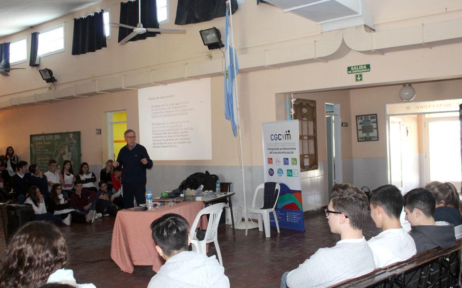 Actividades educativas del CGCyM en Rivera y Carhué, provincia de Buenos Aires