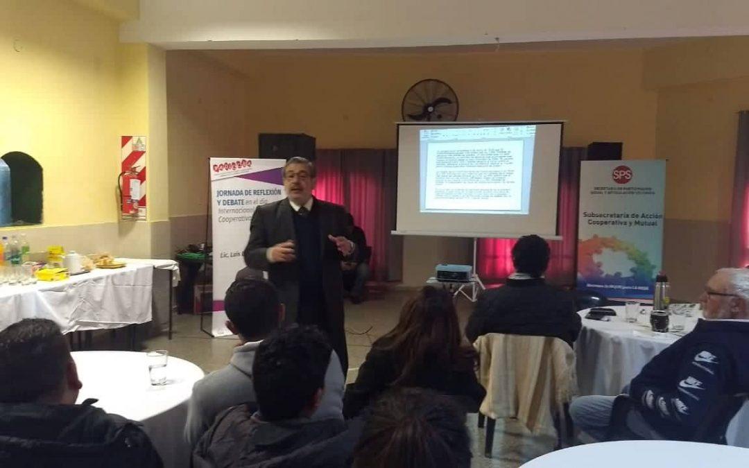 Informe sobre la jornada de capacitación cooperativa realizada en La Rioja