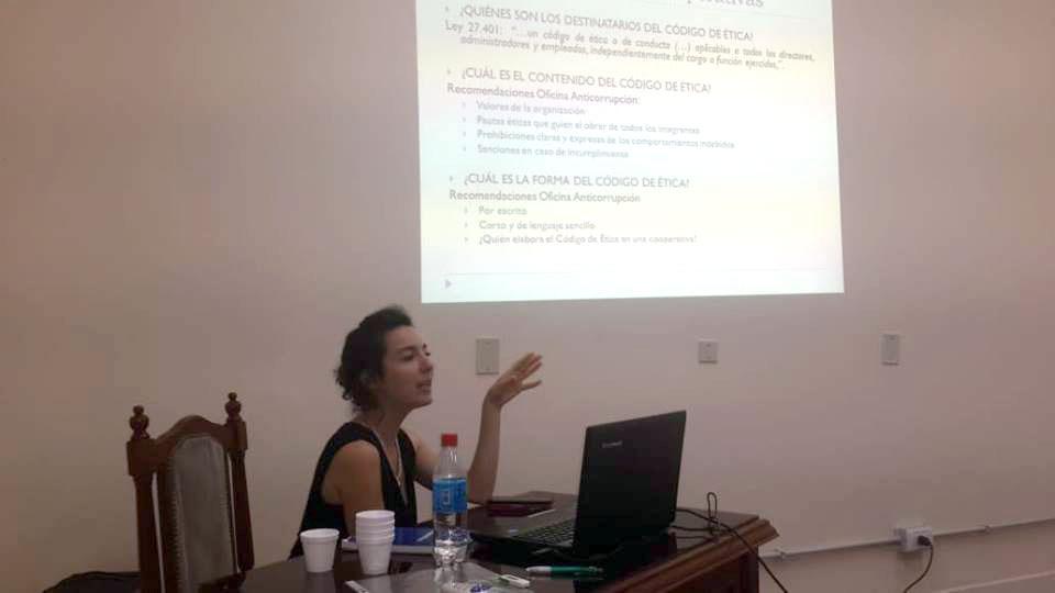 Informe del Taller de Capacitación para Cooperativas realizado en Bahía Blanca