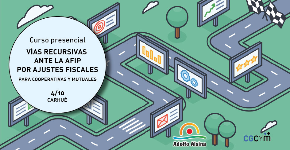 Curso sobre Vías recursivas ante la AFIP para cooperativas y mutuales en Carhué (Adolfo Alsina, provincia de Buenos Aires)