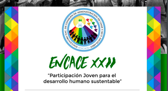 Programa de actividades del XXII ENCACE de Posadas. Varios talleres a cargo del CGCyM