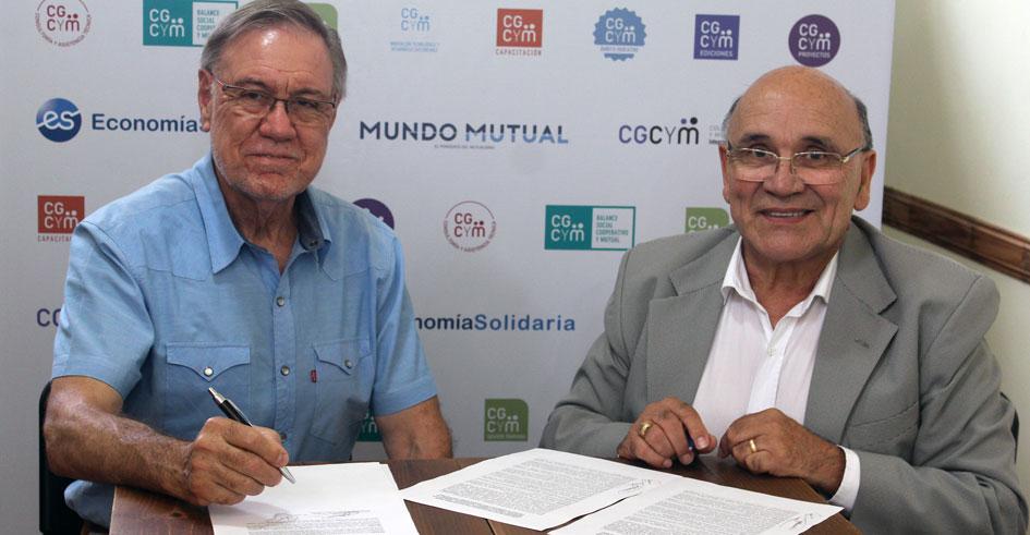 Convenio entre el CGCyM y la Subsecretaría de Cooperativas y Mutuales de la provincia de Córdoba