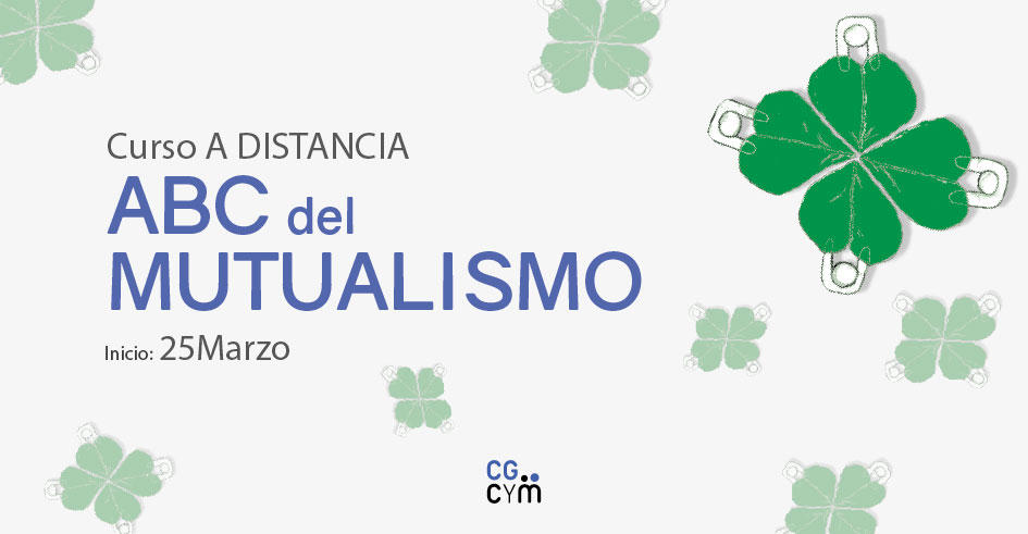 """Curso a distancia """"ABC del Mutualismo"""". Inicio: 25/03"""