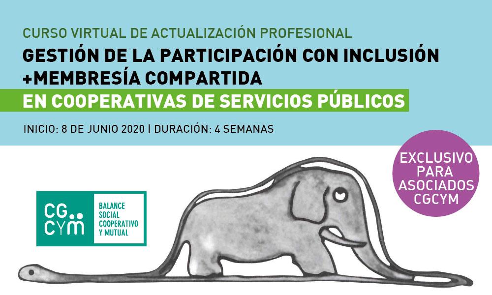 """""""Gestión de la Participación con Inclusión en Cooperativas de Servicios Públicos. Membresía compartida"""""""
