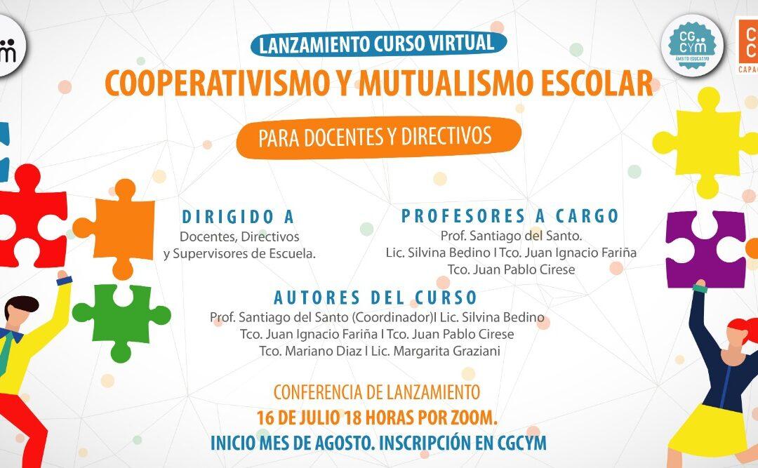 """Charla informativa sobre el Curso """"Cooperativismo y Mutualismo Escolar"""""""