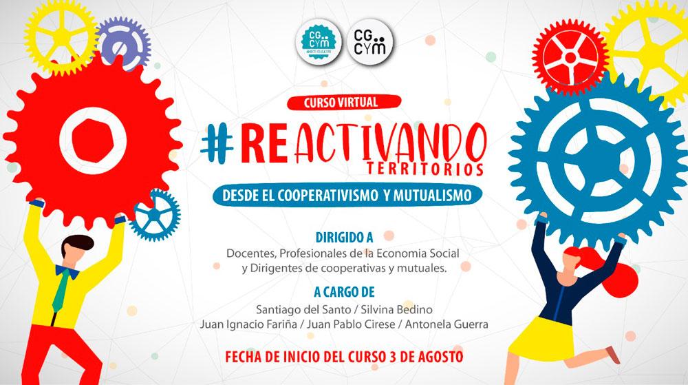 Curso Reactivando Territorios desde el Cooperativismo y el Mutualismo