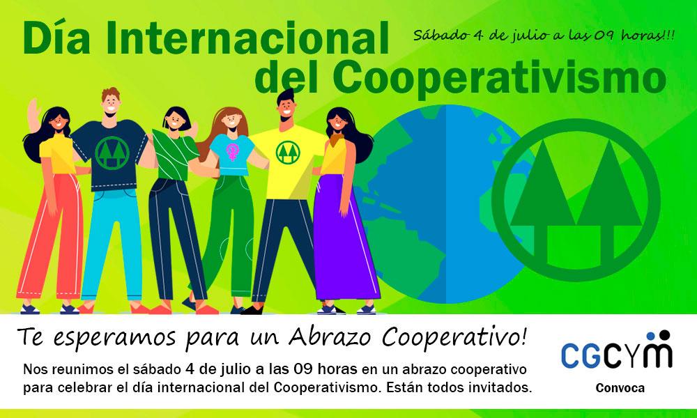 Abrazo Cooperativo celebrando el Día Internacional del Cooperativismo