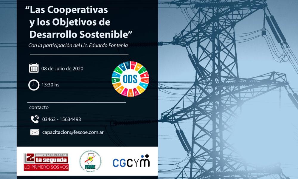 """Charla virtual: """"Las cooperativas y los Objetivos de Desarrollo Sostenible"""""""