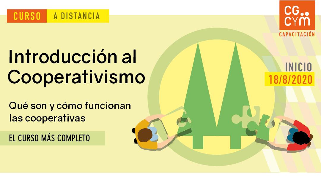 Introducción al Cooperativismo / Curso a distancia / Agosto 2020