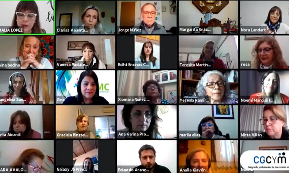 El Gabinete de Equidad de Géneros del CGCyM se presentó con una charla internacional
