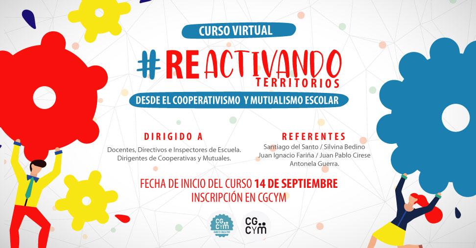 Curso-Taller Reactivando Territorios desde el Cooperativismo y el Mutualismo
