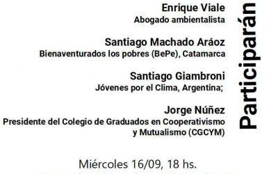 Jorge Núñez participará del conversatorio: Crisis ambiental, crisis de la riqueza: una mirada desde abajo