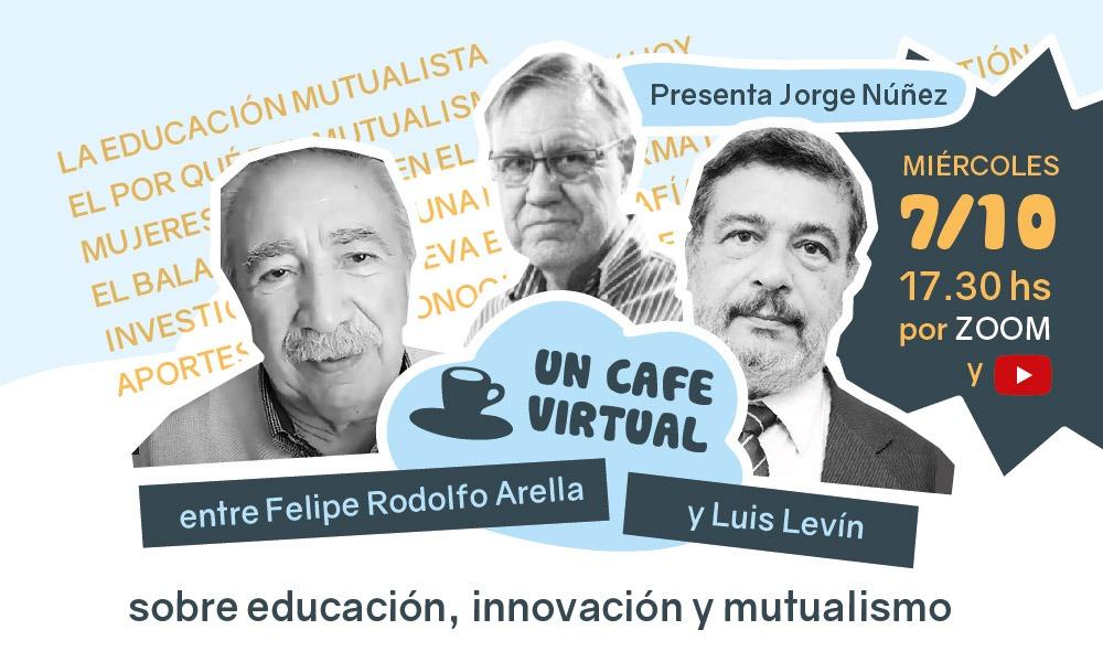 Un café virtual sobre educación, innovación y mutualismo
