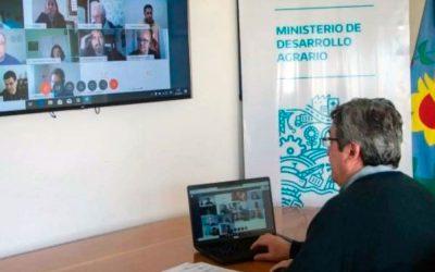 Convenio entre el Ministerio de Desarrollo Agrario de la Pcia. de Buenos Aires y el CGCyM