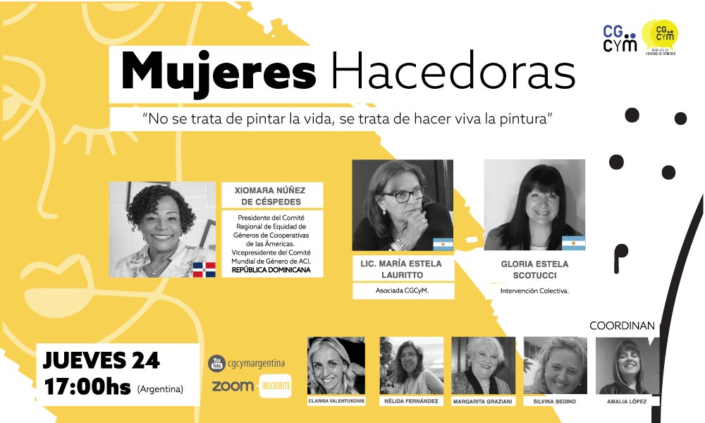 Charla Internacional: Mujeres hacedoras