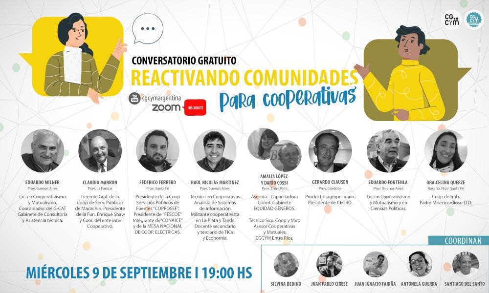 Conversatorio: Reactivando Comunidades para Cooperativas