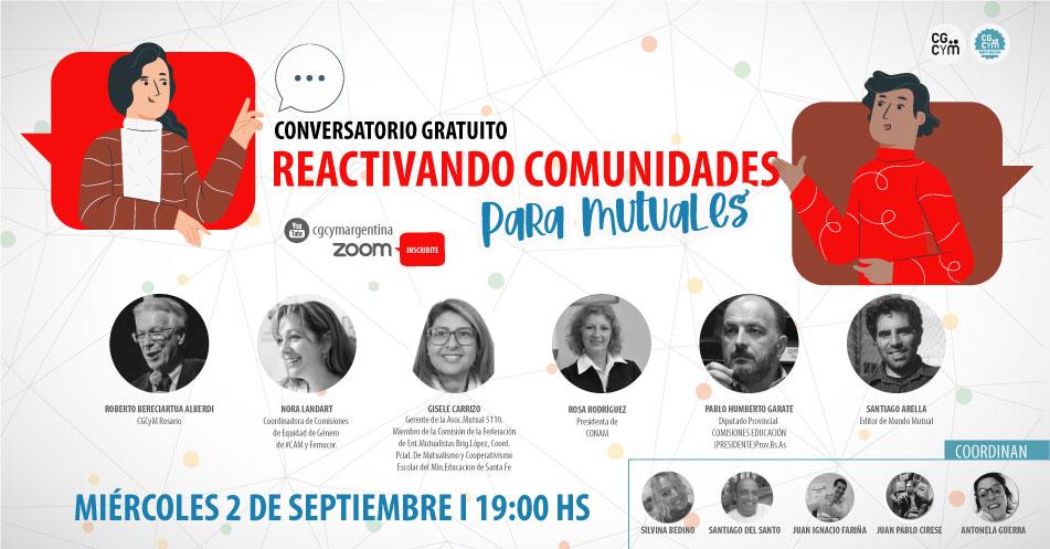 Conversatorio: Reactivando Comunidades para Mutuales
