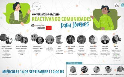Conversatorio: Reactivando Comunidades para Jóvenes