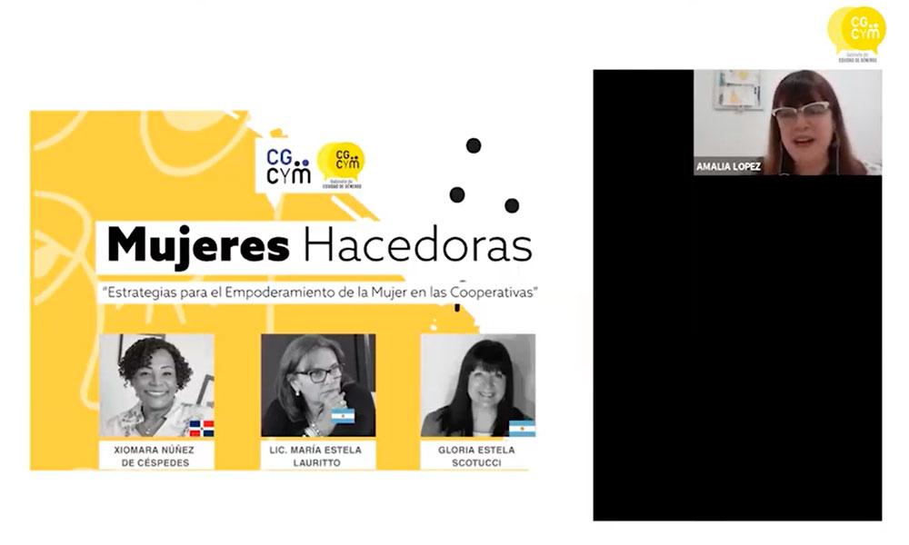 Mujeres que hacen: resumen de la charla internacional organizada por el Gabinete Equidad de Géneros del CGCyM