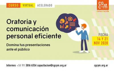 Curso Virtual de Oratoria y Comunicación Personal Eficiente (acelerado)