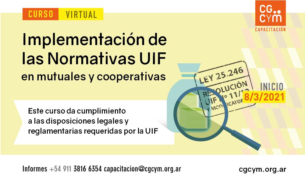 Normativas UIF para Cooperativas y Mutuales