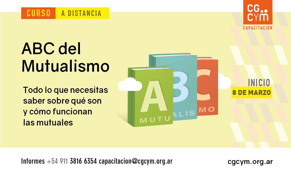ABC del Mutualismo. Inicio: 8 de marzo