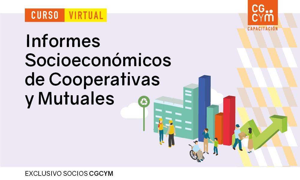 """Charla informativa del Curso """"Informes Socioeconómicos de Mutuales y Cooperativas"""""""