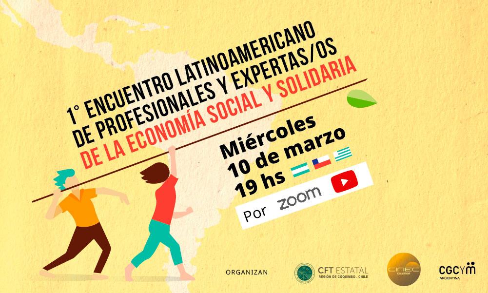 1º Encuentro Latinoamericano de Profesionales y Expertas/os de la Economía Social y Solidaria