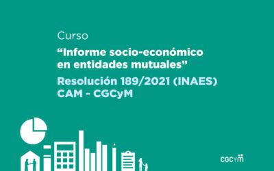 Informes Socioeconómicos: CGCyM y CAM emprenden un programa de capacitación para mutuales y funcionarios públicos