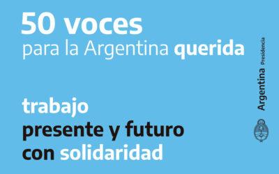 """El programa """"Membresía Compartida"""" del CGCyM fue compilado dentro de """"50 voces para la Argentina querida"""""""