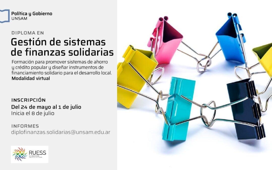 Los asociados del CGCyM poseen una 30% de descuento para la Diplomatura en Gestión de Sistemas de Finanzas Solidarias que dictará la UNSAM